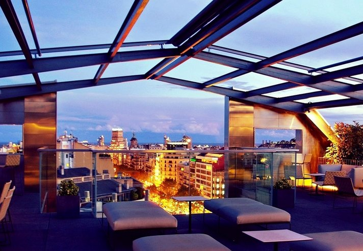 5 star hotel views at 3 star prices the most perfect for Hotel gracia barcelona