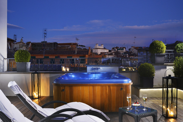 The First Luxury Art Hotel Roma - A Perfect Hotel View in Rome ...