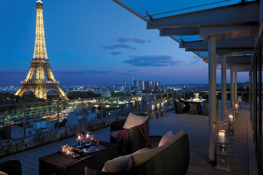 hotels near the eiffel tower with a perfect paris view the most