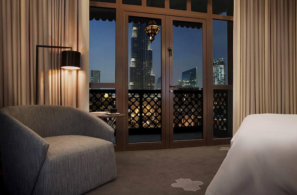 Manzil Downtown Dubai near Burj Khalifa.jpg
