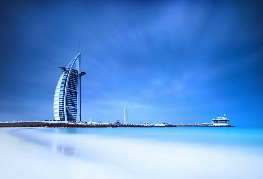 Jumeirah Beach and Burj Al Arab