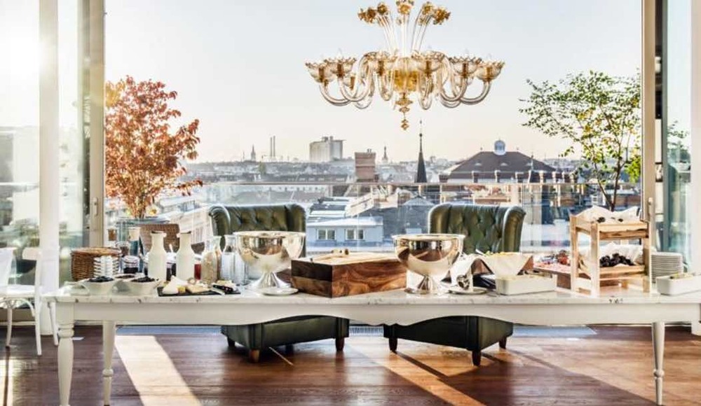 Vienna hotels with best views for a perfect vienna stay for Design hotel boutique vienna