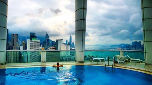 A Perfect Harbour View Hotel In Hong Kong The Most Perfect View
