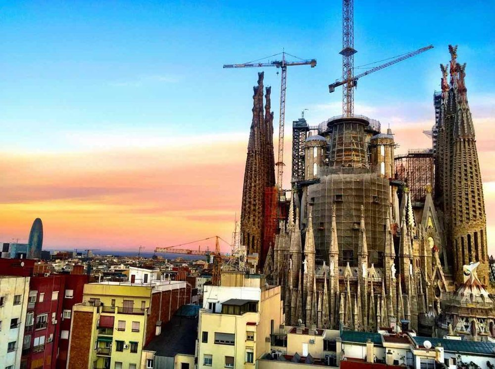Best hotels in barcelona with best views the most for Hotel in barcellona