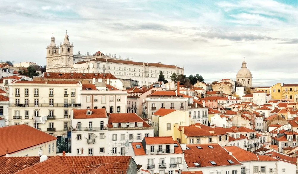 Alfama view captured by  @liammckay