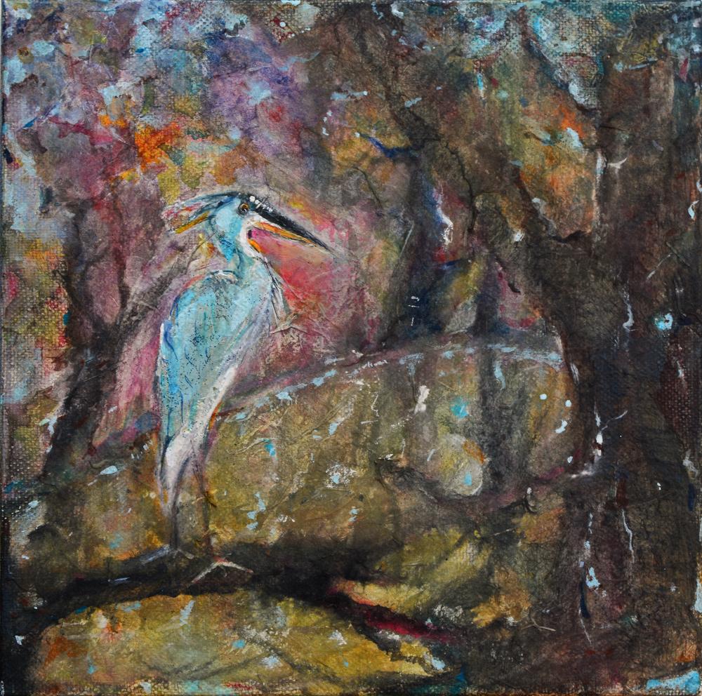 esopus creek heron