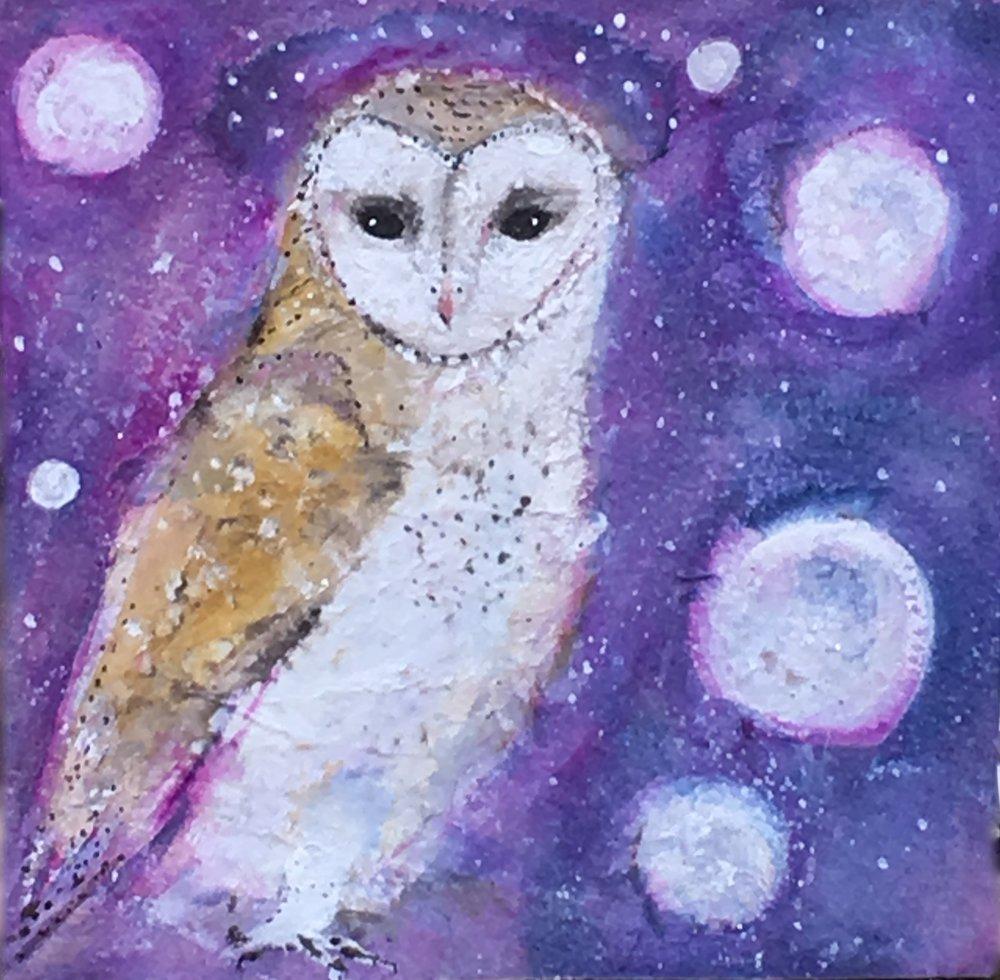 cosmic barn owl