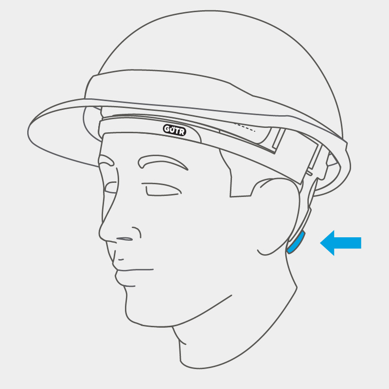 INSTALLATION   Reinstall suspension and use helmet fastening system to adjust sweatband tension. Secure using the fastener.
