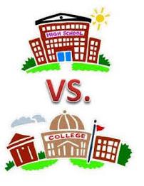 High School vs. College Life