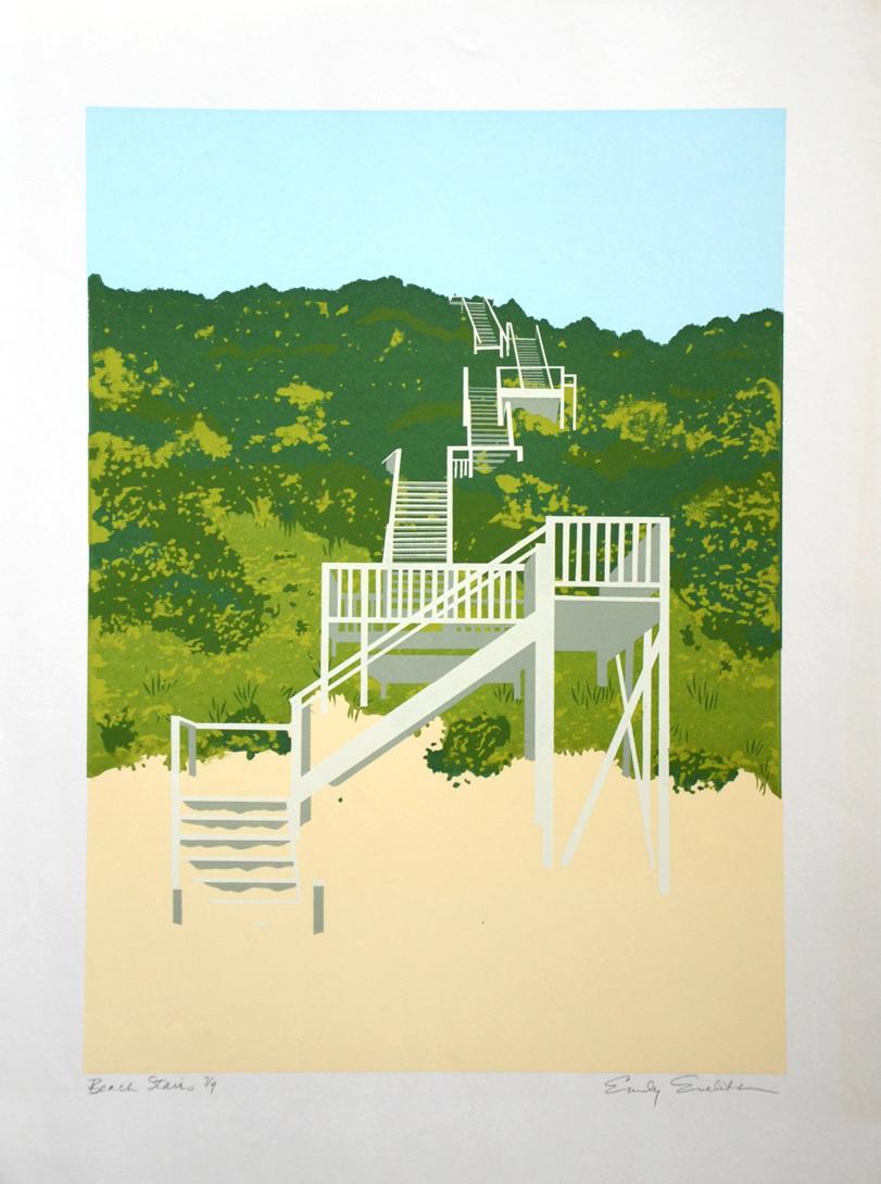 Eveleth - Beach Stairs.jpg