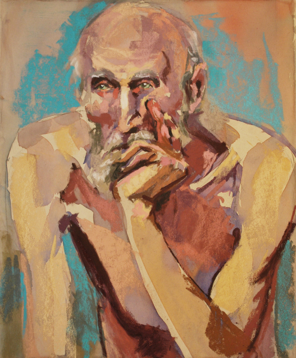 The nude thinker pastel.jpg