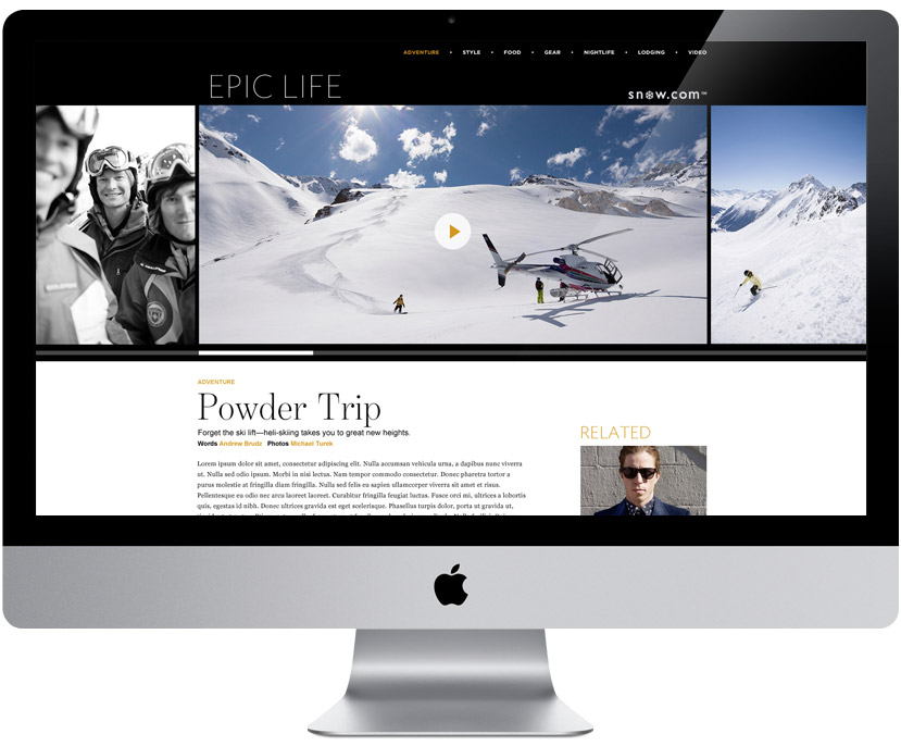 EPIC LIFE Digital Magazine — Article Page