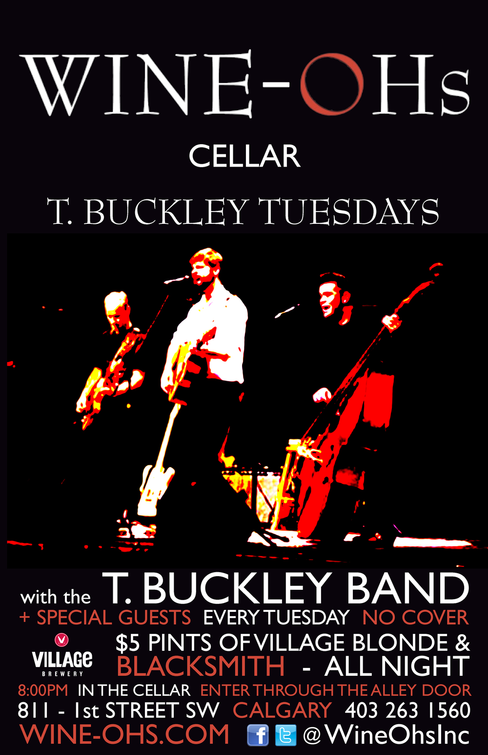 T. Buckley Tuesdays band poster.jpg