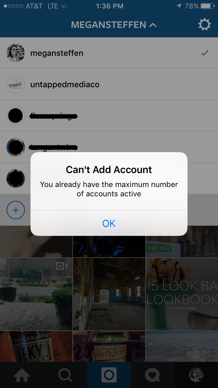 Multiple Accounts on Instagram — Untapped Media