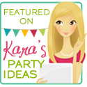 Kara's Party Ideas Feature