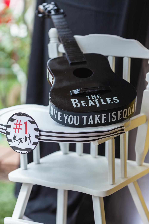 Beatles Bash Custom Guitar designed by Down Emery Lane.