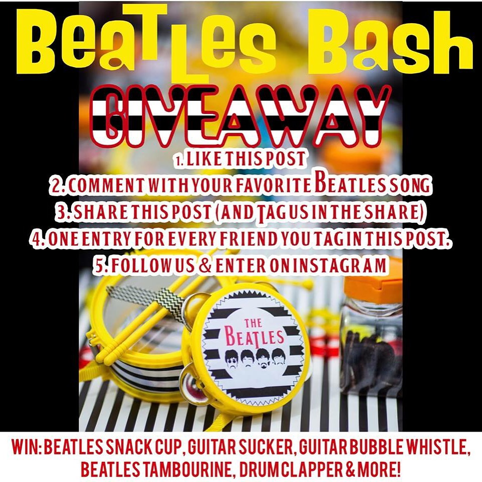 Beatles Bash FREE Giveaway at Down Emery Lane.