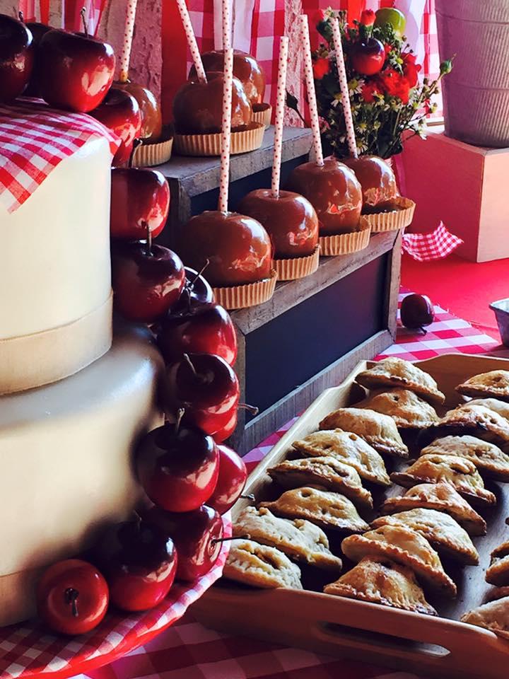 Apple Orchard dessert bar