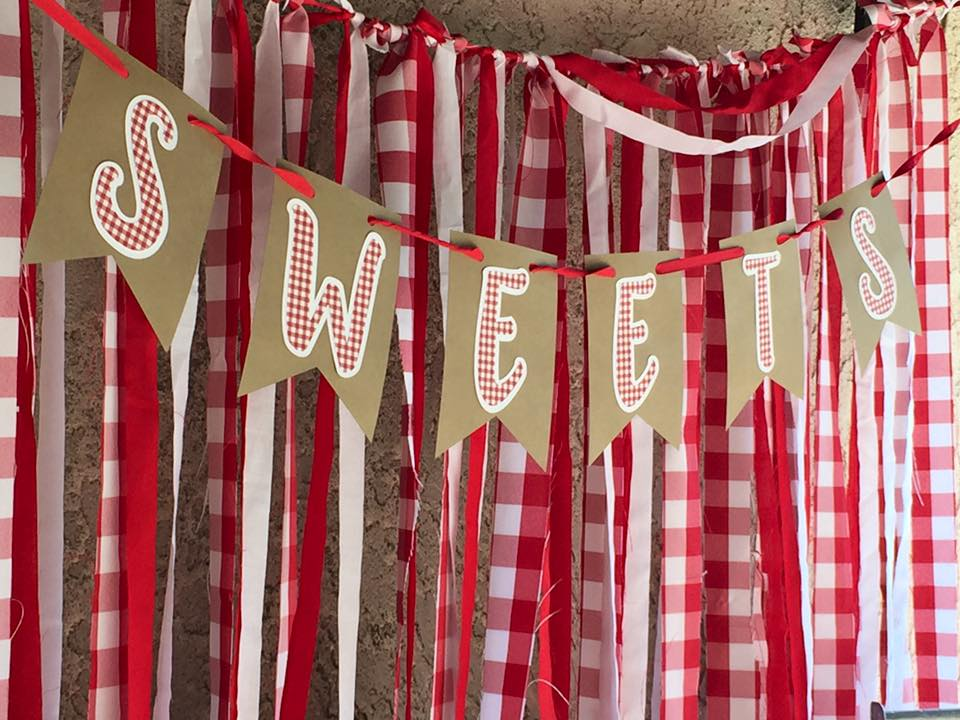 "Apple Orchard Party by Down Emery Lane - ""Sweets"" Banner"