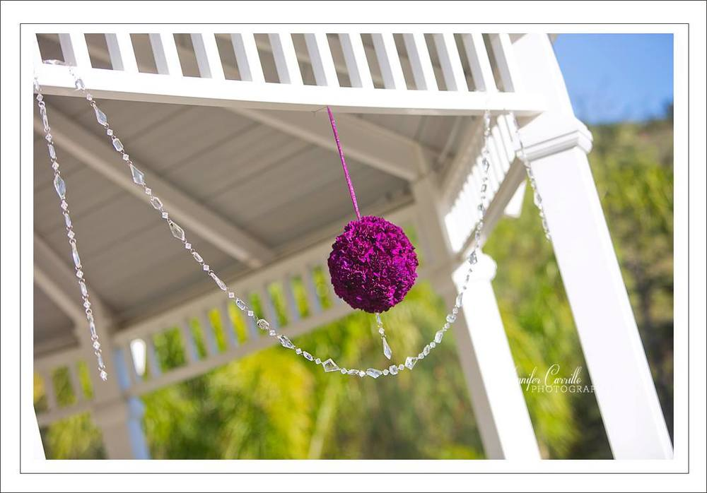 Down Emery Lane // Moorpark Country Club // Flower Ball & Crystals