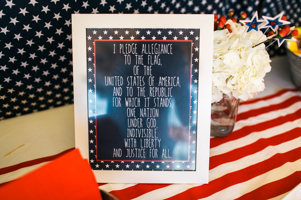 Printable Pledge of Allegiance is available for digital download in our  Etsy  shop.