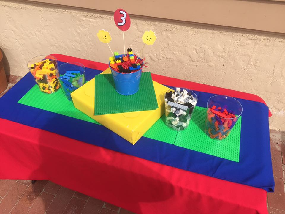 Custom Lego table by Down Emery Lane