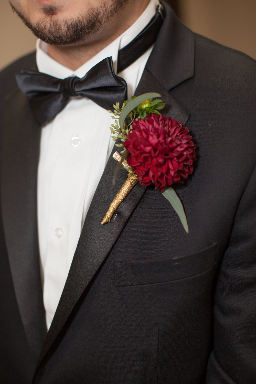 Groom's Boutonniere by Down Emery Lane.