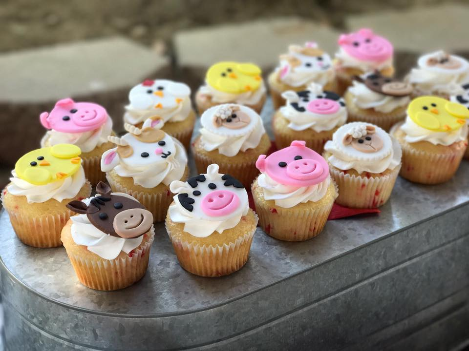Farm Cupcakes by Singer Sisters Sweets