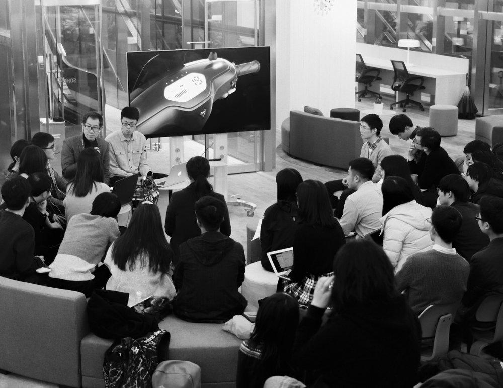 An offline workshop with Carl Liu in Shanghai
