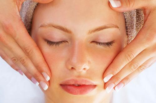 A woman getting skin rejuvenation treatment in Brandon, Fl