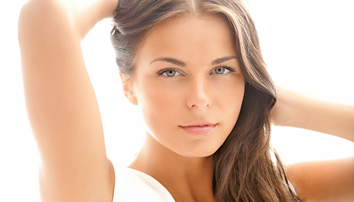 Woman getting laser hair removal in Brandon, FL