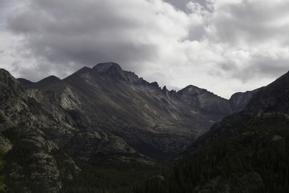 Longs Peak and Keyboard of the Winds, Rocky Mountain National Park, 2015