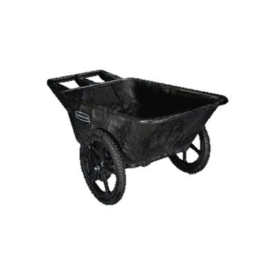 Dock Carts: Rubbermaid Big Wheel Cart.