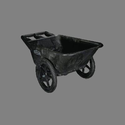 Dock Carts: Rubbermaid Big Wheel Cart.