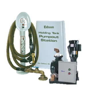 Edson's Peristaltic System  - 40 Gallons Per Minute. Shown with Optional Remote Stand.