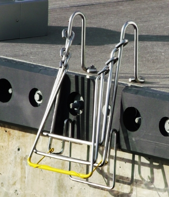 Direct Mount Universal Mount Up-N-Out SW-1224 Shown in Picture    Also Available in Standard Plate Mount and Pier Mount
