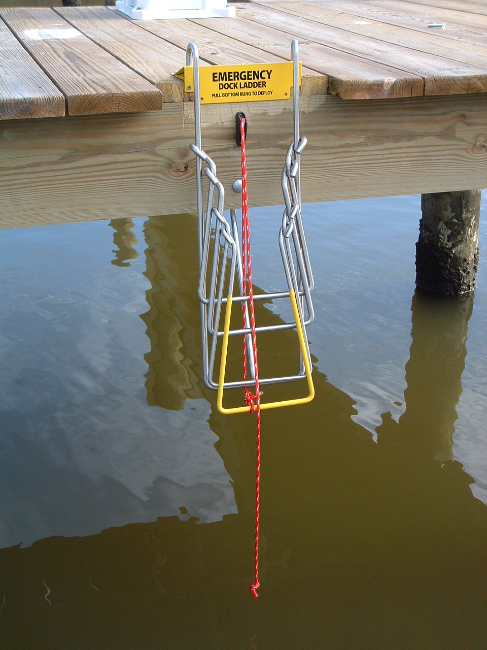 Pier Mount Up-N-Out Ladder