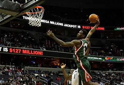 Larry Sanders Dunk