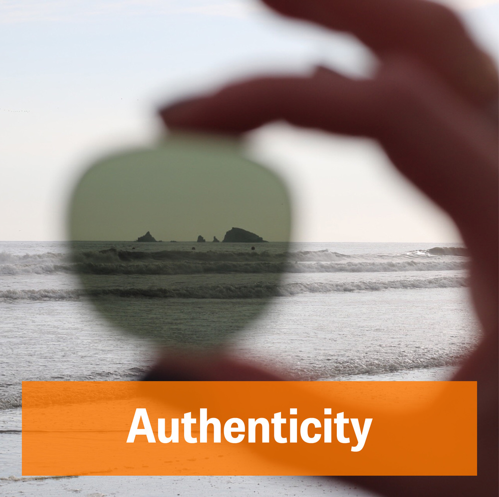"Yes, what constitutes as ""authentic"" can be  tough to navigate  in a fast-paced world; to us it boils down to these components:   Clarity:   We work with US micro-manufactures to enhance the attention-to-detail that you deserve. We value our direct relationship with the owner(s) as it allows us to keep our ideas and creations intact through the process of development.                             Community   Community can be defined in several way in this internet age; we come from a small town ourselves. We find comfort in working with small teams in other communities in order to do more with less. Though small-team cooperation we are able to make greater impacts across the US; our success is their success."
