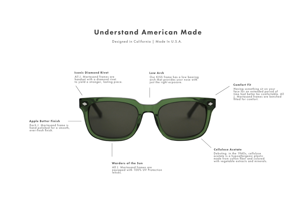 Made In USA Sunglasses