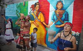 """Soldaderas Mural"" by Yasmin Hernandez Photo by Javier Soriano"