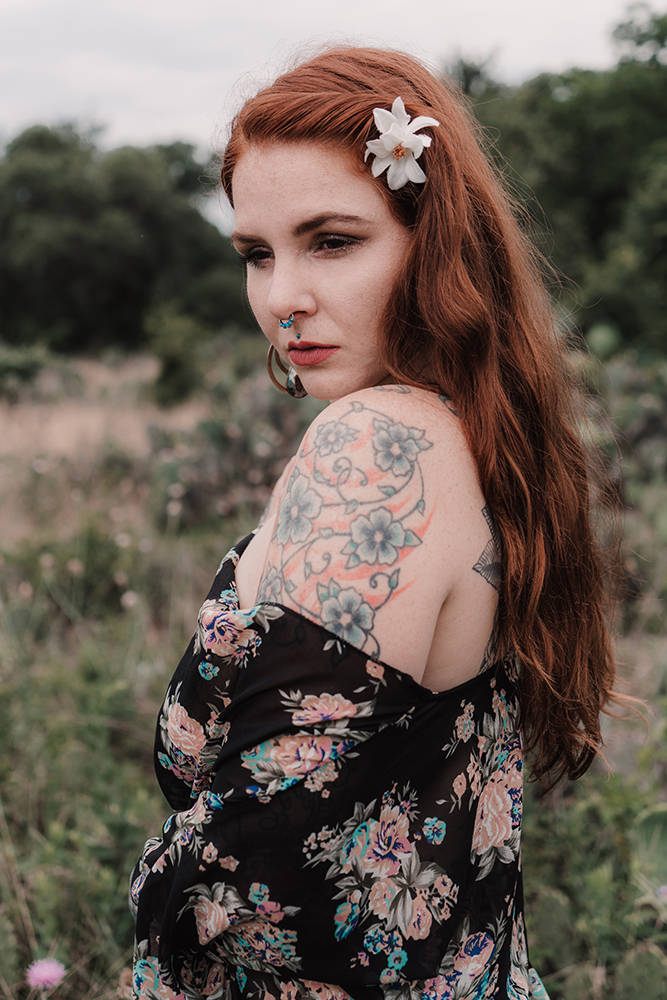 Photographer/Model, Ginger Paige