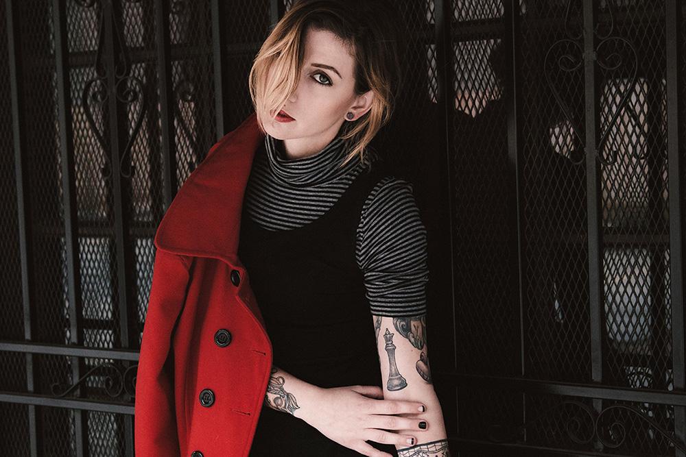 Model, Nadia Choates