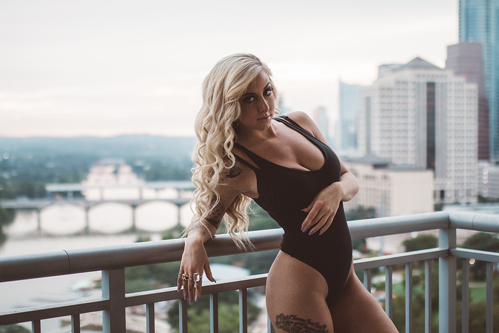 Model, Hannah Victoria Allen