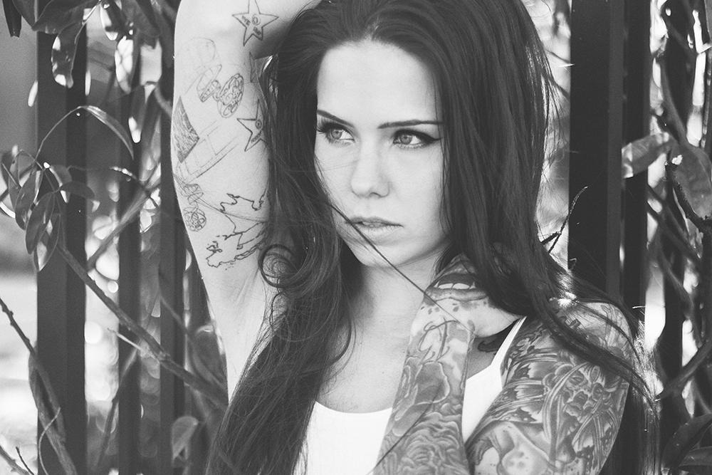 Model, Holly Savage