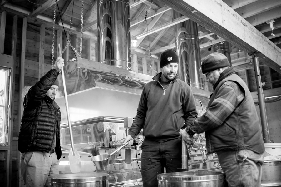 Cosman Men Maple Sugaring