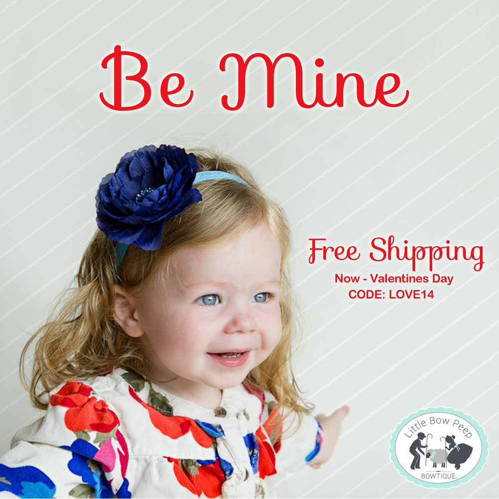 Valentine's Special: FREE SHIPPING NOW through Valentines Day!  By your little sweetheart something she'll love!