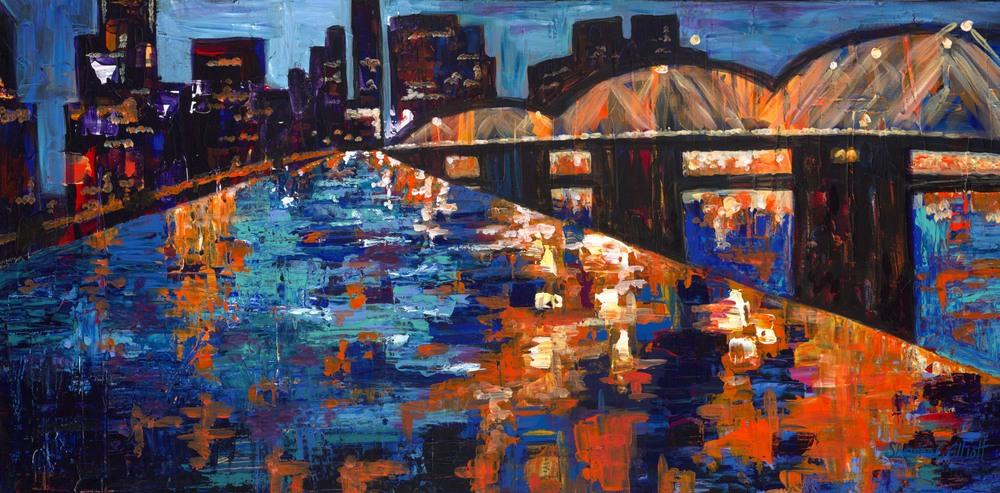 Portland Nights by Shawna C Elliott