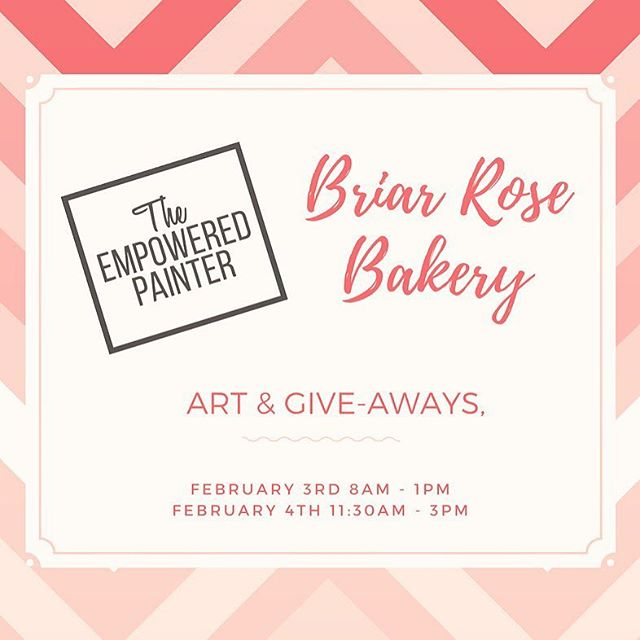 Pop Up Art Sale at Briar Rose 🌹 Shop for your sweetie.