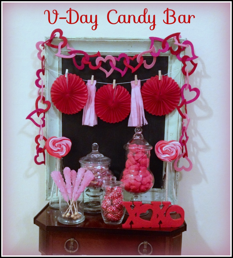 A Valentine's Day Candy Bar